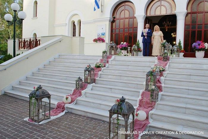 d596925db553 Στολισμός γάμου Παναγία Βλαχέρνα Κερατσίνι - flowers4wedding ...