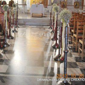 Στολισμός γάμου μέ πυθάρια,εξωτερικος στολισμός εκκλησίας γάμου,στολισμός vintage,οικονομικός στολισμός γάμου