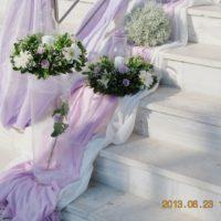 Στολισμός γάμου μέ λιλά χρώμα, με λιλα χρωμα, Λιλά Στολισμός, Στολισμό Εξωτερικά Της Εκκλησίας, Στολισμό Εσωτερικά Της Εκκλησία