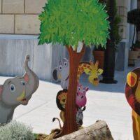 Βάπτιση με θέμα ζωάκια Δάσους, Θέμα βάπτισης ζώα της ζούγκλας