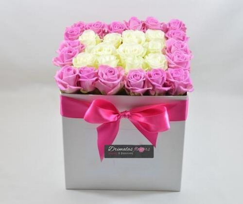 λουλούδια σε κουτιά
