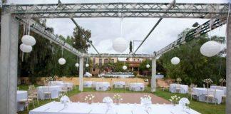 Στολισμός γάμου κτήμα Ιπποστάσιο