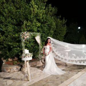 εξωτερικός στολισμός  γάμου  στην εκκλησία , Vintage Στολισμός γάμου,  γάμος με Vintage θέμα.
