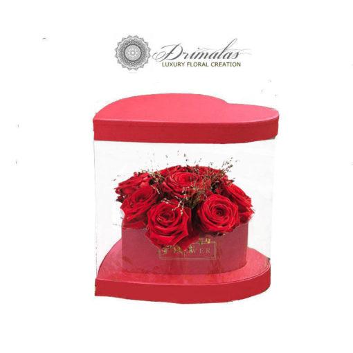 Τριανταφυλλα σε κουτια, Λουλουδια σε κουτι αθηνα, Αποστολη λουλουδιων αθηνα