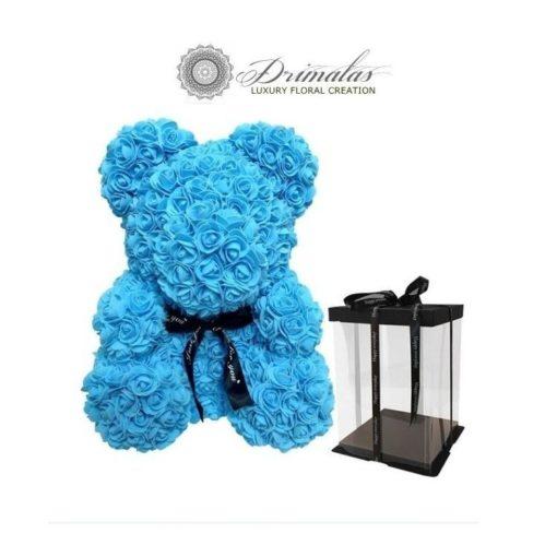 Αρκουδακι απο τριανταφυλλα - Αρκουδάκι απο λουλούδια