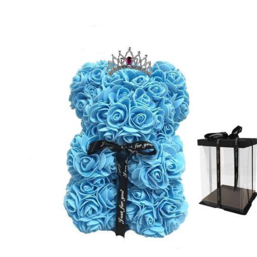 αρκουδάκι από τριαντάφυλλα,Αρκουδάκι λουλουδιών,αποστολη λουλουδιων