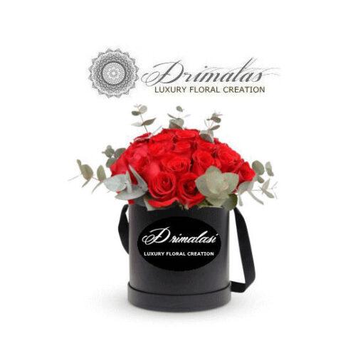 Αποστολη τριανταφυλλα σε κουτί , λουλούδια σε κουτιά,Flower box,τριανταφυλλα σε κουτι
