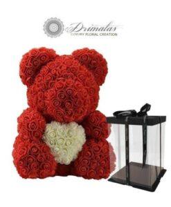 αρκουδακι λουλουδια, Αρκουδακι απο λουλουδια, Forever roses