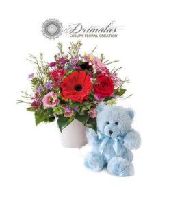 λουλουδια για μαιευτηριο,λουλουδια για νεογεννητο,Λουλούδια για Γέννηση