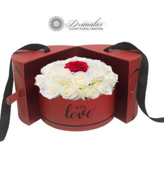 Κόκκινα Τριαντάφυλλα σε κουτί , Τριαντάφυλλα σε κουτιά