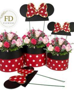 Τριανταφυλλα σε κουτι-λουλουδια σε κουτι