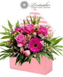 Τριανταφυλλα σε κουτι-λουλουδια σε κουτι -Λουλούδια σε Κουτί
